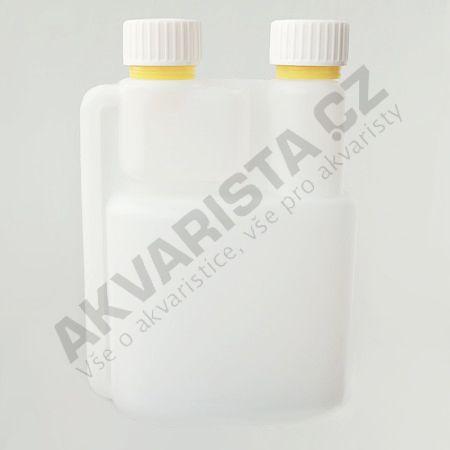 Plastová lahvička s vnitřním dávkovačem 500 ml