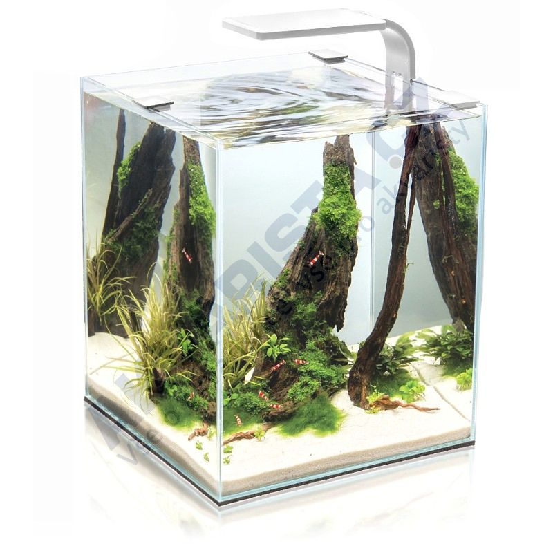 AquaEl ShrimpSet LEDDY Smart akvárium 30l bílé