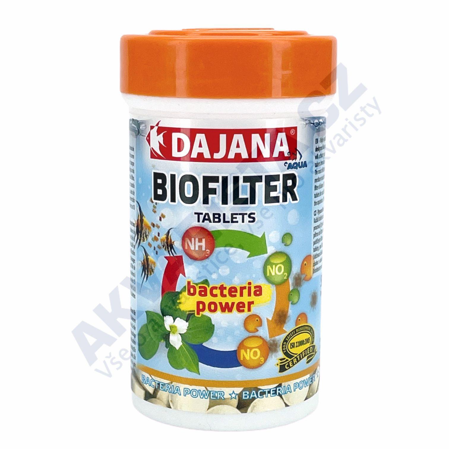 Dajana Biofilter tabs 100ml/50ks