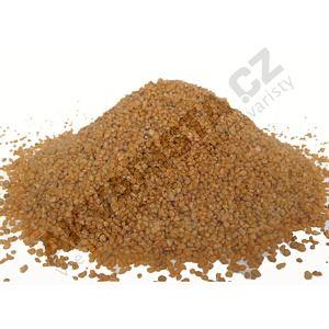 Písek akvarijní 0.6 - 1.2 mm - oranžový nano, 5kg