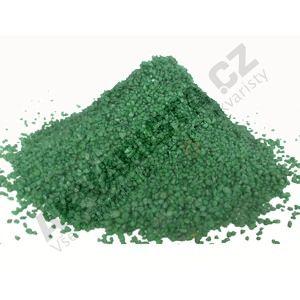 Písek akvarijní 0.6 - 1.2 mm - zelený nano, 5kg