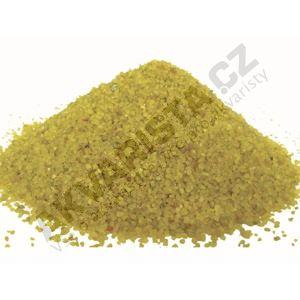 Písek akvarijní 0.6 - 1.2 mm - žlutý (zlatý) nano, 25kg