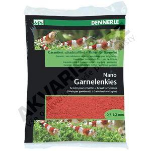 Dennerle Nano Garnelenkies, písek do miniakvária Indischrot (červený) 2kg