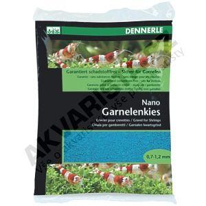 Dennerle Nano Garnelenkies, písek do miniakvária Azurblau (modrý) 2kg