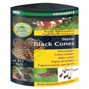 Dennerle Nano Black Cones - Olšové šištičky (25ks)
