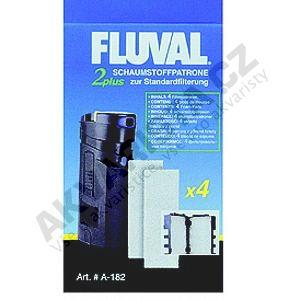 Fluval Náplň molitan pro vnitřní filtry Fluval 2 Plus
