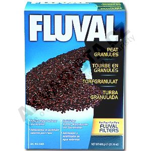 Fluval Náplň rašelina granulovaná 500g