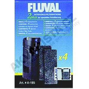 Fluval Náplň uhlíková pro vnitřní filtry Fluval 2 Plus