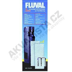 Fluval Náplň vata pro vnitřní filtry Fluval 3 Plus
