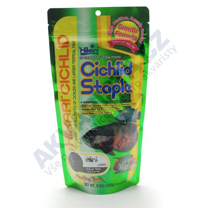 Hikari Cichlid Staple Mini pellet 250g