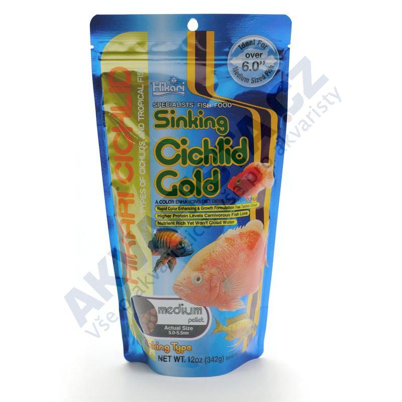 Hikari Sinking Cichlid gold medium 342g