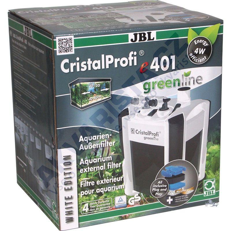 JBL CristalProfi e401 WHITE greenline vnější filtr
