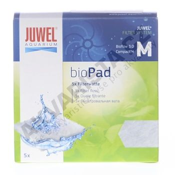 Juwel filtr. náplň Compact (Bioflow 3.0) - bílá filtrační vata bioPad