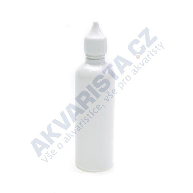Plastová lahvička s kapátkem 100 ml - bílá