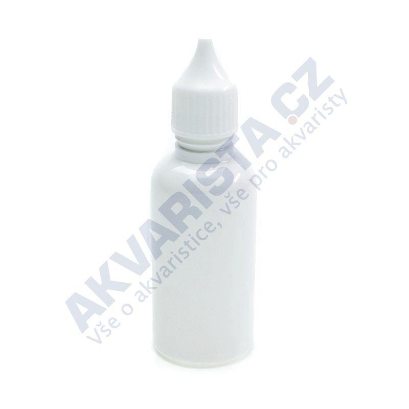 Plastová lahvička s kapátkem 30 ml - bílá