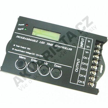 Programovateln� controller 5CH pro LED osv�tlen�