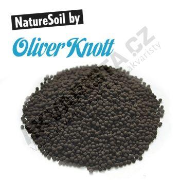 Oliver Knott Nature Soil �ern� jemn� (2-3 mm) 10 litr�