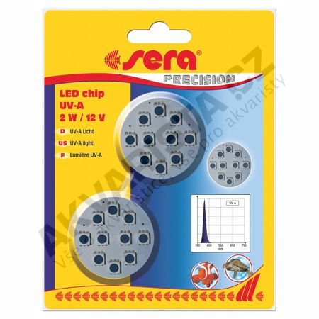 Sera LED chip UV-A 2W/12 V 2ks