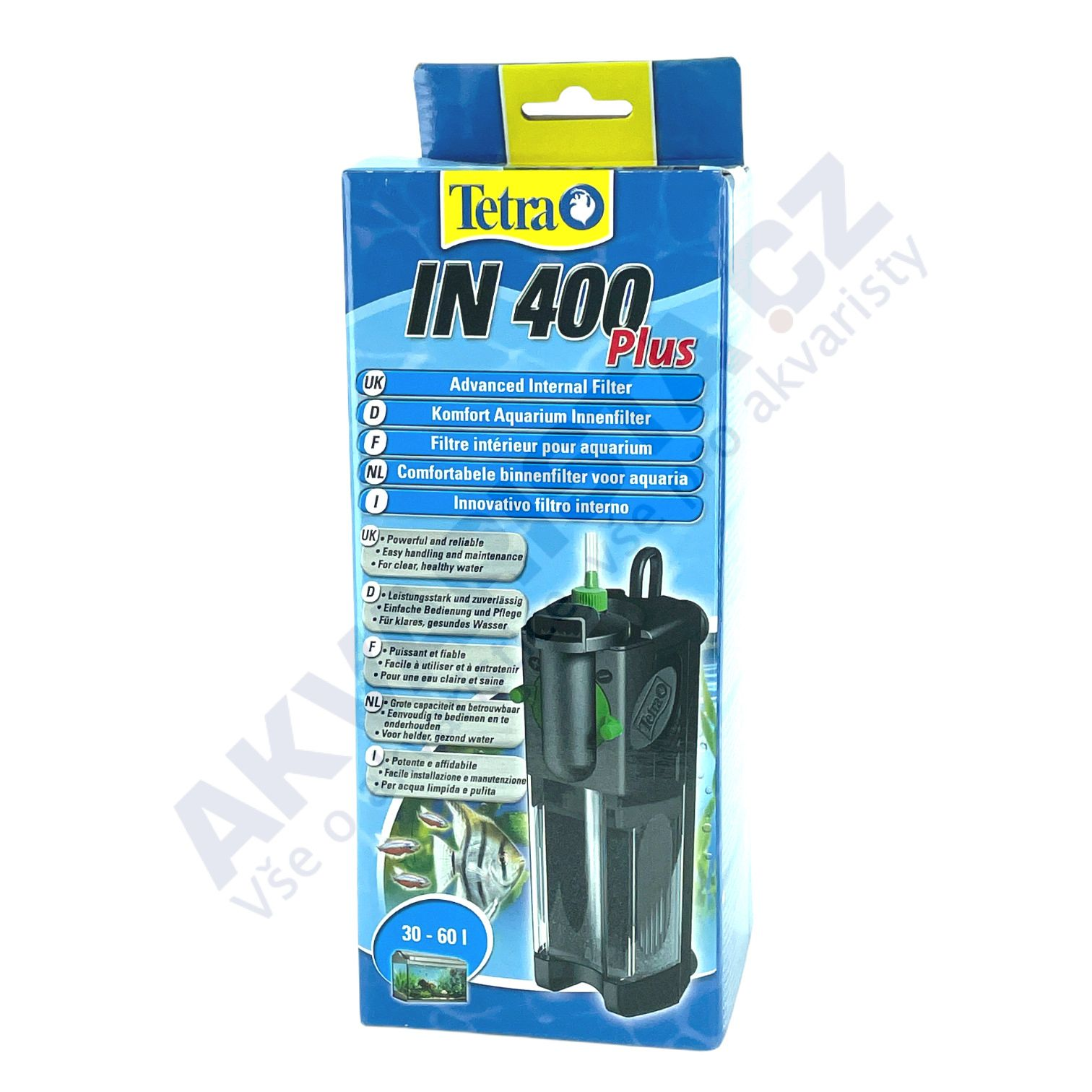 TetraTec IN 400, vnitřní filtr