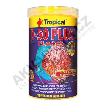 Tropical Discus Flakes D-50 PLUS 21000 ml